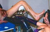 Hinein mit dem Bein
